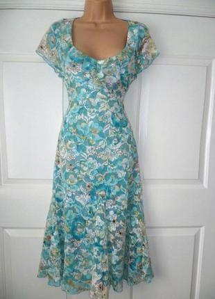 Платье per una/marks & spencer миди ажурное кружевное c asos
