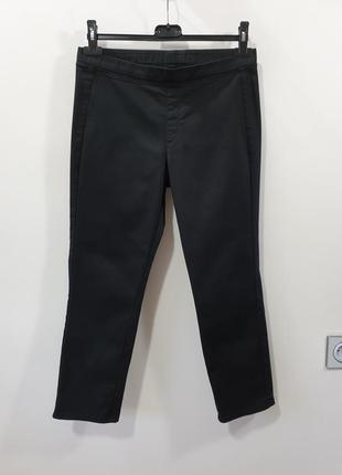 Базовые укороченные брюки хлопок uniqlo