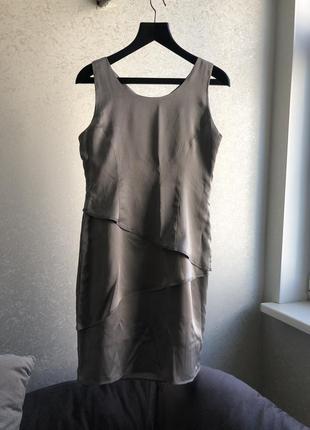 Платье коктейльное франция 100% шёлк
