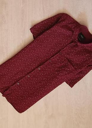 Продается стильная мужская  рубашка с коротким рукавом от selected
