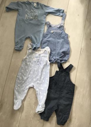 Одежда для новорождённого baby club h&m zara