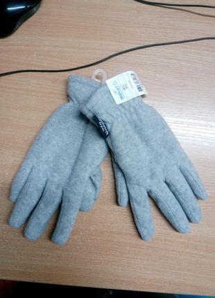Двойные флисовые перчатки