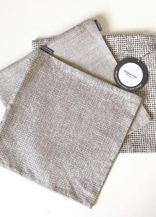Люксовый текстиль для дома decopur, бельгия , набор чехлов для мини-подушек , 100 % лен