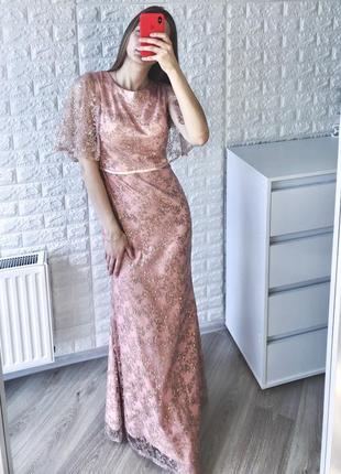 Шикарное платье lucy wang