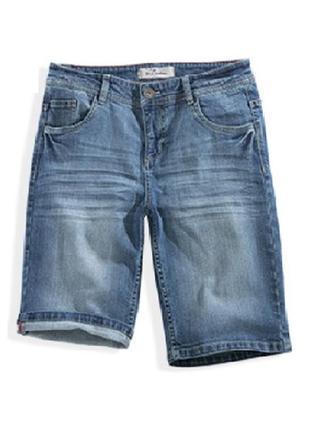 Джинсовые шорты, бермуды s 36 евро (наш 42), blue motion, германия