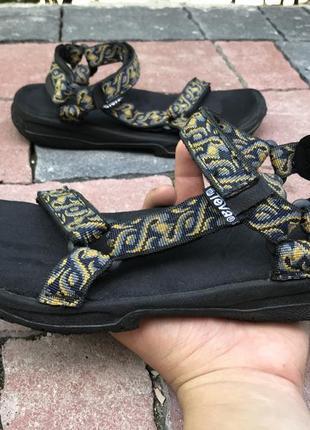 Оригинальные сандали босоножки teva s/n 6843 для туризма