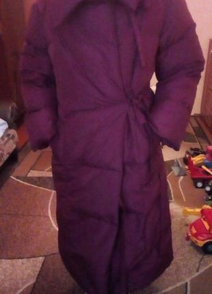 Пальто-одеяло,пуховик.
