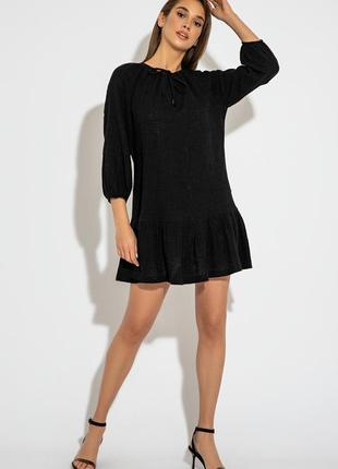 Легкое свободное платье  из вышитого батиста