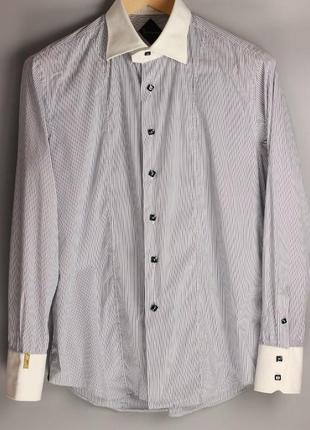 Рубашка премиум класса италия в стиле brioni zilli kiton isaia