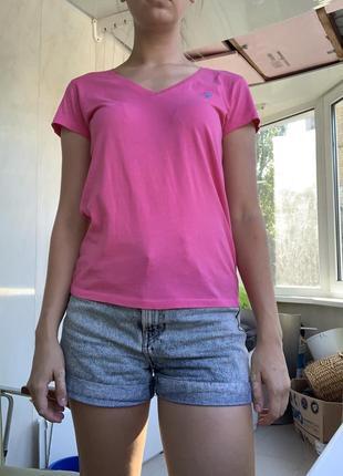 Розовая футболка ralph lauren