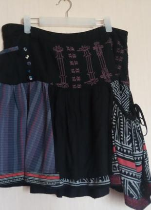 Очень крутая юбка desigual. разм. xl (42)