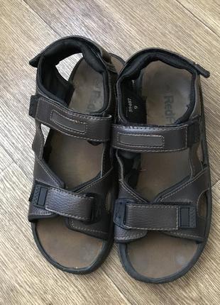 Сандалии redfish, мужская обувь, кожаные сандали, сандалии
