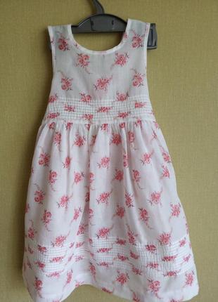 Нежное платье laura ashley на 2 года