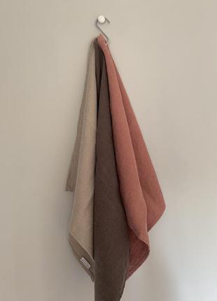 Люксовый текстиль для дома decopur, бельгия , салфетки люверс сет №4, 100 % лен