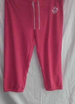 Очень классные фирменные бриджи розового цвета