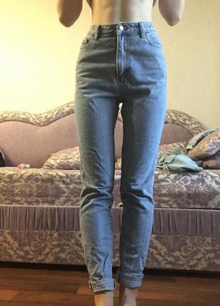 Джинси мом джинсы мом моми mom moms