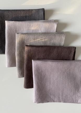 Люксовый текстиль для дома decopur, бельгия , салфетки сет №2 , 100 % лен