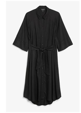 Широкое платье  рубашка