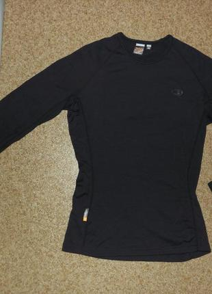 Женская термофутболка icebreaker bodyfit 200 merino wool
