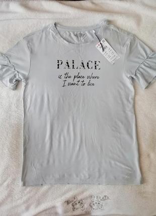 Фирменная красивая футболка