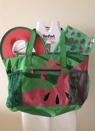 Пляжная сумка с аксессуарами