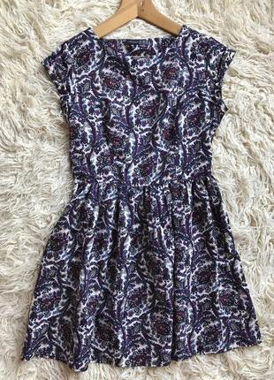Платье цветное ,легкое платье