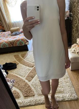 Платье шифоновое .