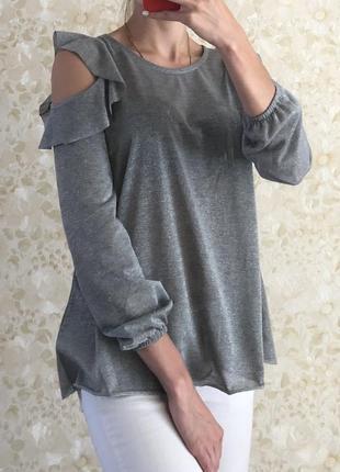 Блуза с люрексом gloria jeans