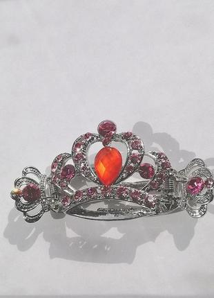 Заколка корона