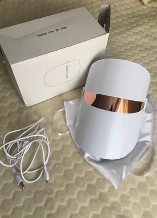 Светодиодная led маска для лица