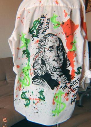Кастомная рубашка «bad franklin day»