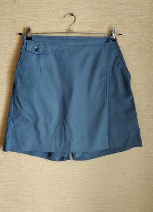 Распродажа юбка шорты на запах мини юбка с шортами