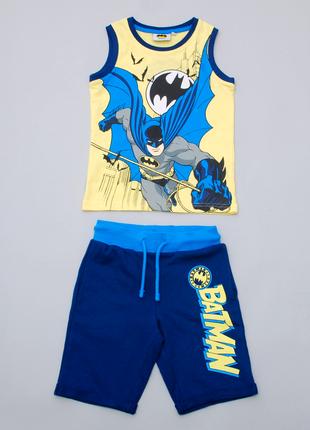 Костюм летний для мальчика batman майка и шорты. pepco