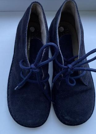 Замшевые ботинки дезерты marabellas