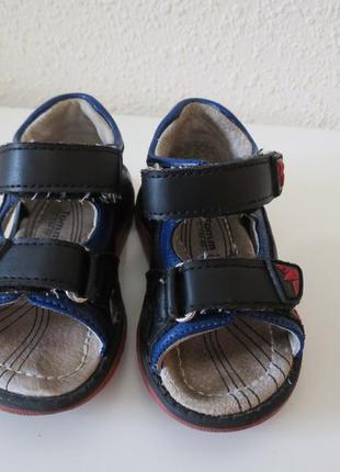 Дитячі сандалі, еко шкіра, розмір - 20