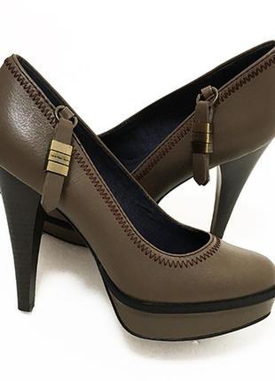 Кожаные туфли calvin klein оригинал из сша