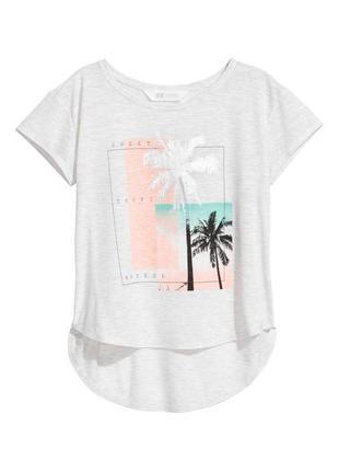 Модные футболки h&m