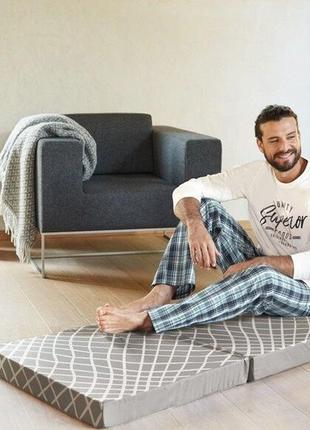 Мужская пижама домашний костюм livergy германия, реглан штаны
