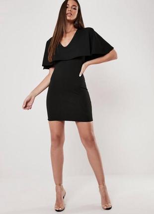 Чорна міні сукня