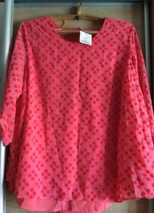 Интересная блузочка на пышные формы