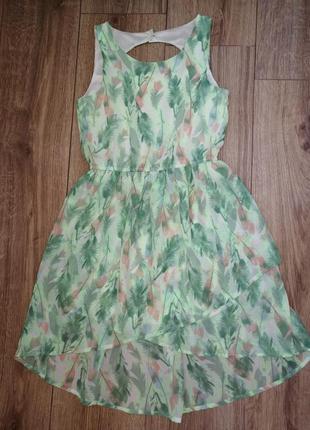 Красивое платье на девочку h&m