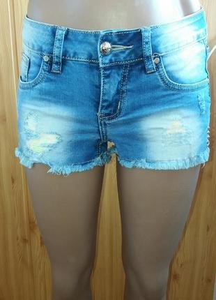 Брендовые крутые джинсовые шорты