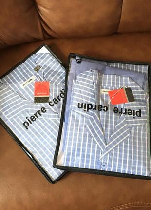 Хлопковая пижама/ домашний костюм/ рубашка и брюки