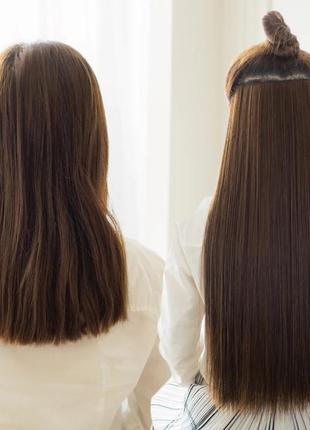 Трессы волосы на заколках накладные волосы