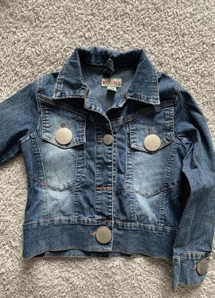 Куртка джинсовая, 12 лет
