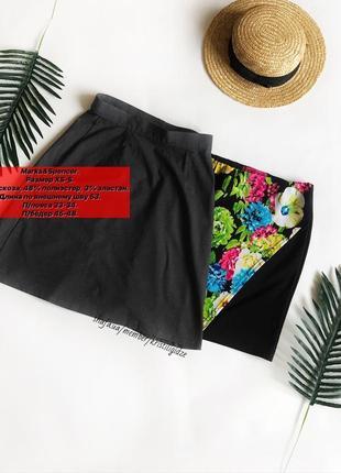 Классическая юбка юбочка на высокой талии от marks&spencer. р. xs-s