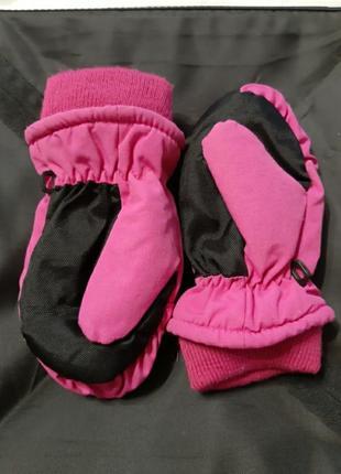 Теплые рукавички 104-110 4-5 лет типа reima lassie и тд
