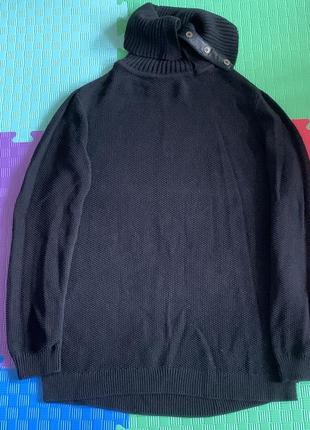 Длинный теплый свитер