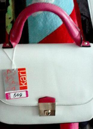 Супер классная сумочка от kari по мега крутой цене!!!!