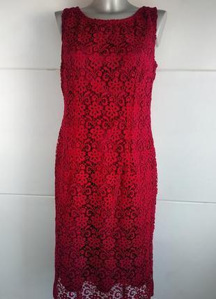 Нарядное платье laura ashley с кружевом